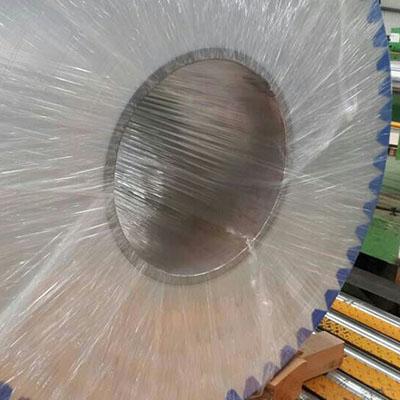 缠绕膜穿心包装铝卷